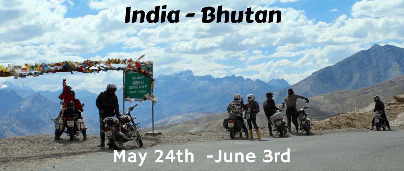 India To Bhutan Motorcycle Trip