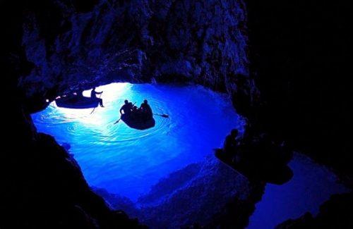 blue cave boat croatia