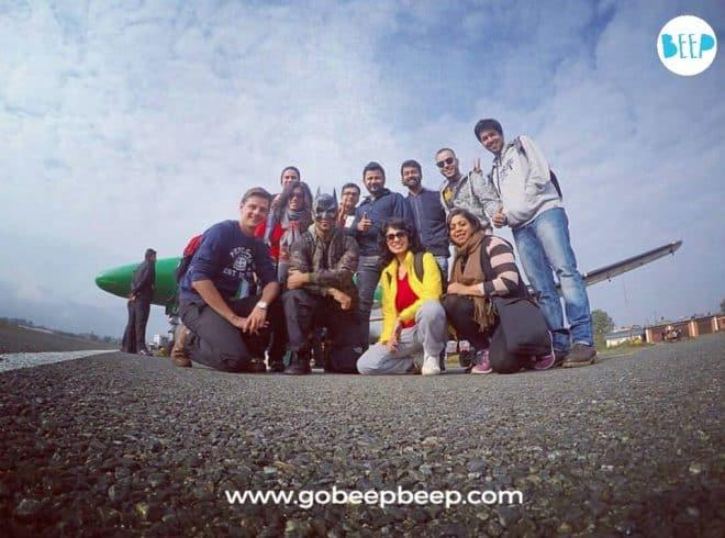 Nepal Skydive Pokhara group pic 2017