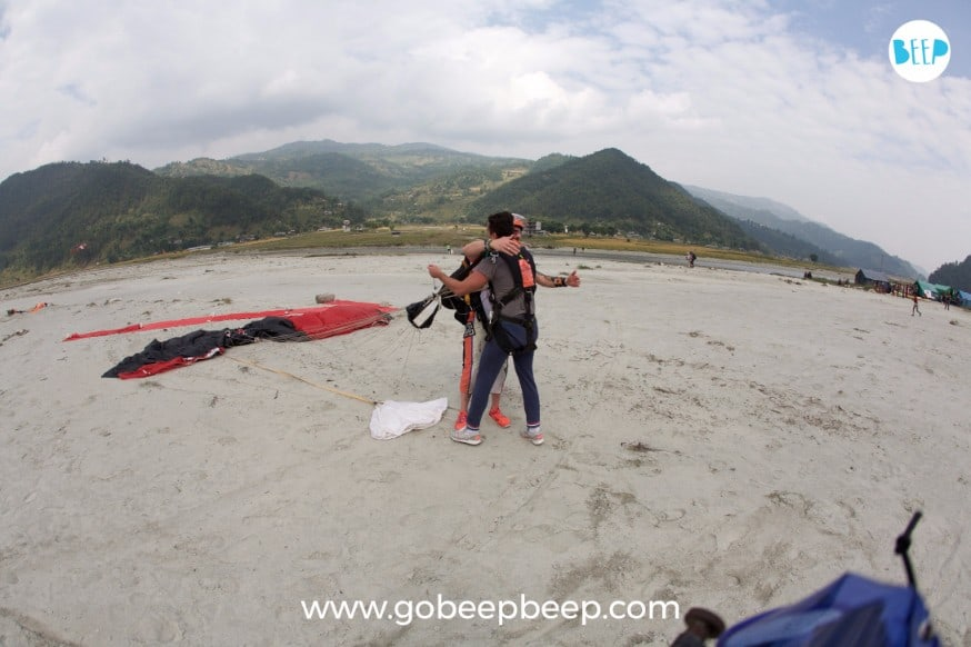 skydive in nepal dropzone