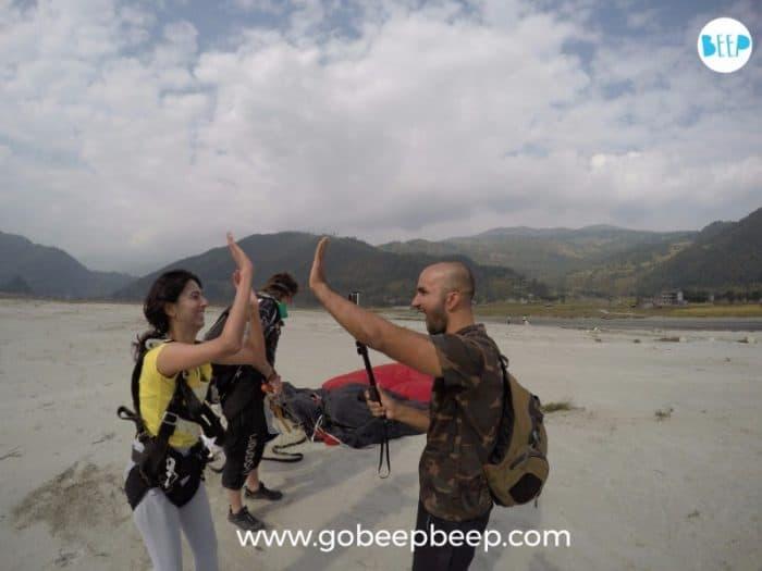 Nepal Skydive pokhara happy skydivers