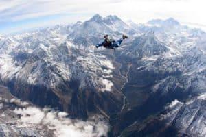 nepal skydiving