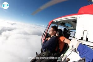 skydiving in India with gobeepbeep